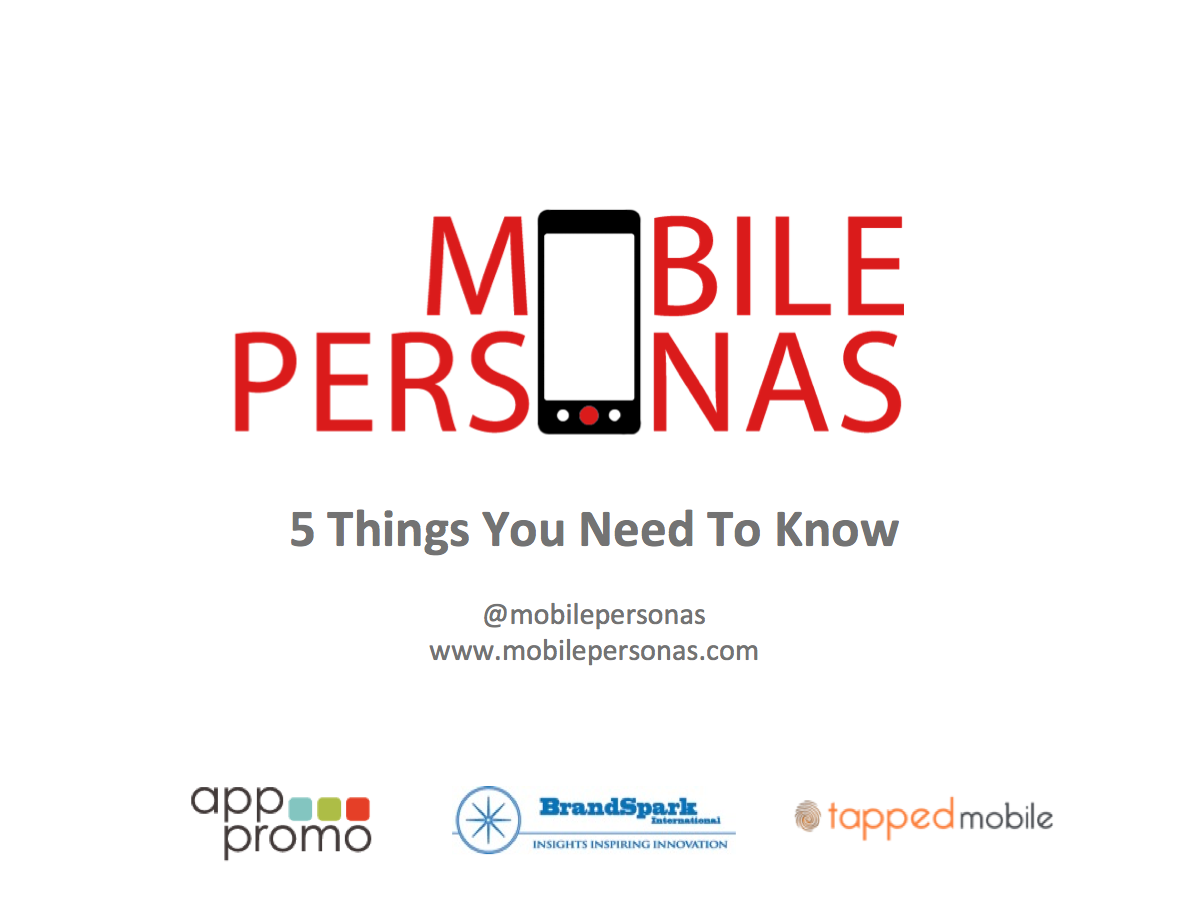Mobile Personas 2014